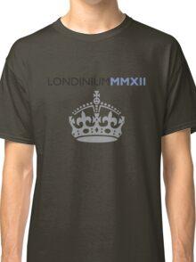 London 2012 - Londinium MMXII Large Crown Classic T-Shirt