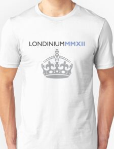 London 2012 - Londinium MMXII Large Crown Unisex T-Shirt