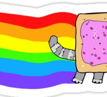 nyan cat look Sticker