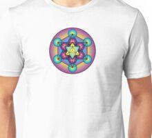 Metatron's Cube Merkaba Unisex T-Shirt