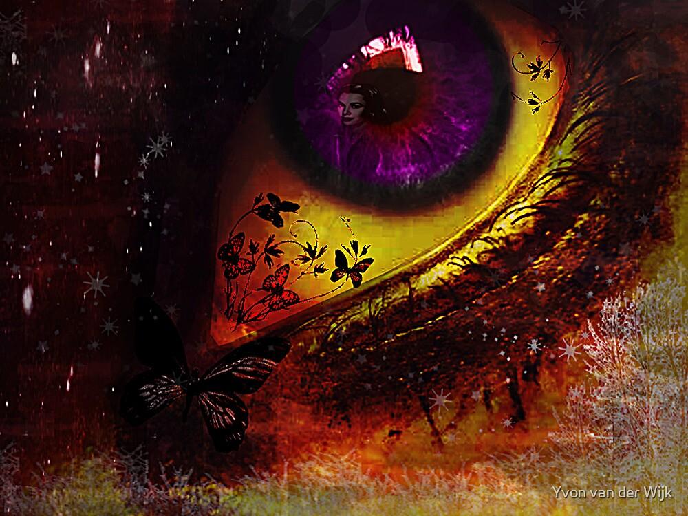 Fairy night_eye by Yvon van der Wijk