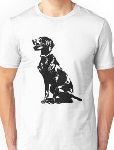 German Pointer Silhouette Unisex T-Shirt