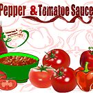 Bell Pepper & Tomato Sauce (3258 Views) by aldona