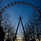Blue Eye over London by Silken Photography