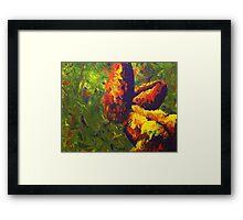 Nude Paint Framed Print