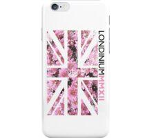 London 2012 - Londinium MMXII Union Jack Floral iPhone Case/Skin