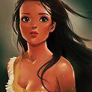 Pocahontas - Artist Rendition by Tom Skender