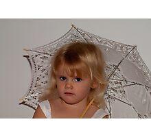 From Olivia's third birthday portrait shoot Photographic Print