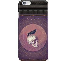 Crow and Skull Collage iPhone Case/Skin