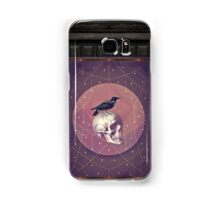 Crow and Skull Collage Samsung Galaxy Case/Skin