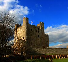 Rochester Castle (English Heritage) by larry flewers