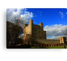 Rochester Castle (English Heritage) Canvas Print