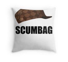 Scumbag steve hat Throw Pillow