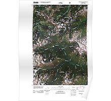 USGS Topo Map Washington State WA Stevens Pass 20110428 TM Poster