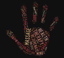 Massage Hand (black) by Lorie Warren