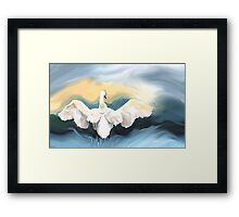The Brightest Star Framed Print