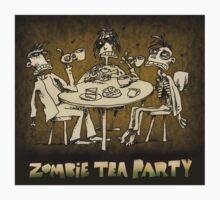 zombie tea party  Kids Clothes