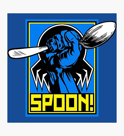 SPOON! Photographic Print