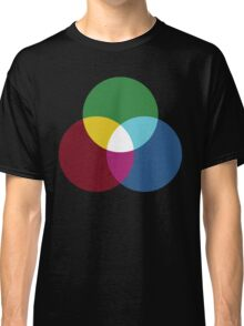 Colours of light (primary and secondary) Classic T-Shirt