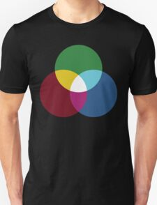 Colours of light (primary and secondary) T-Shirt