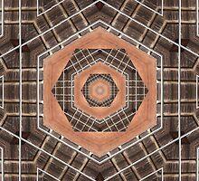 Kaleidoscope Bass Guitar by Gillian Cross
