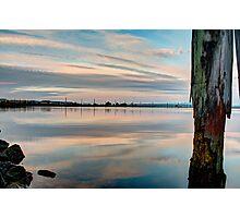 Pastel on Gardner Bay Photographic Print