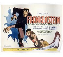 Frankenstein (Wide) Poster