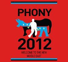 PHONY 2012 (LOOKS LIKE KONY2012) Unisex T-Shirt