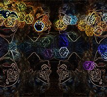 Masking Hearts by gnarlyart