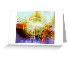 trying to center thoughts..... Greeting Card