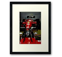 Uncomplicated Workplace Framed Print