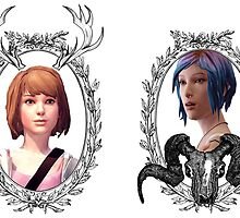 Max and Chloe (Transparent) - Life is Strange by ziggylou