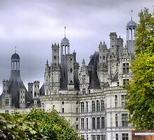 The Sentinels of Chambord ( 1a ) by Larry Lingard-Davis