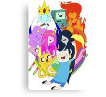Adventure Time Friendship Canvas Print