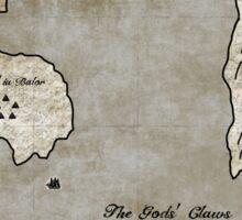 Map - Sacrificed: Heart Beyond the Spires Sticker