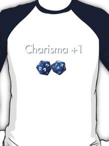 Charisma +1 2d20 T-Shirt