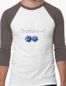 Charisma +1 2d20 Men's Baseball ¾ T-Shirt