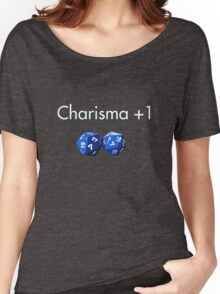 Charisma +1 2d20 Women's Relaxed Fit T-Shirt