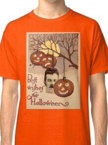 Best wishes (Vintage Halloween Card) Classic T-Shirt