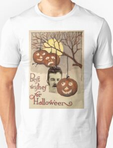 Best wishes (Vintage Halloween Card) Unisex T-Shirt