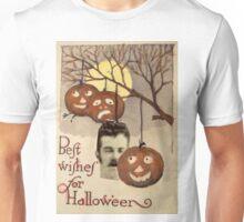 Best wishes (Vintage Halloween Card) Unisex T-Shirt