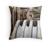 nautical industry  Throw Pillow