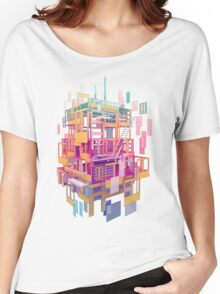 Building Clouds Women's Relaxed Fit T-Shirt