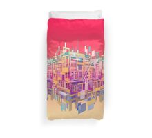 Building Clouds Duvet Cover