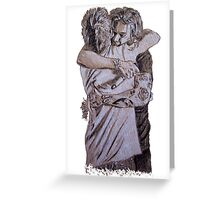 Larry Stylinson, Harry and Louis hugging Greeting Card
