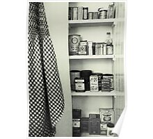 """Kitchen - Spice Cupboard - 1940's""   Poster"