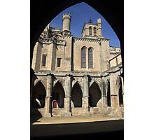 Gothic Arches France Photographic Print