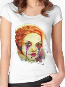 Clandestine Women's Fitted Scoop T-Shirt