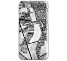 Ancient London Map II iPhone Case/Skin