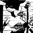 Graffiti, East London by MaggieGrace